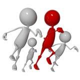 бежать людей Стоковое Изображение RF