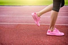 Бежать ног бегуна Стоковая Фотография RF