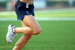 бежать ног стоковое изображение