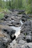Бежать реки сухой Стоковое Изображение RF