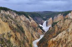 Бежать через каньон Стоковое Фото