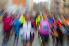 Бежать людей Стоковое Фото