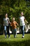 Бежать детей Стоковая Фотография