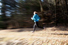 бежать Стоковое фото RF
