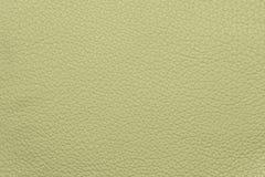 Бежевая кожаная grained картина предпосылки текстуры Стоковая Фотография RF