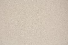 Бежевая предпосылка текстуры стены гипсолита Стоковая Фотография