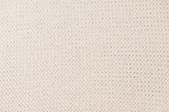 Бежевая связанная текстура ткани, Стоковые Изображения RF