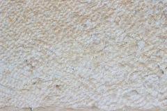 Бежевая текстура каменной стены Стоковые Фото