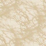 Бежевая текстура ткани батика - безшовная плитка Стоковые Фотографии RF