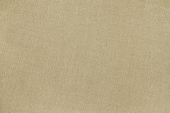 Бежевая шерстяная плоская ткань с без волнами Стоковое Изображение