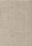 Бежевая linen текстура драпирования Стоковая Фотография