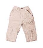 бежевые брюки стоковая фотография