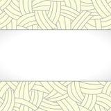 Бежевые нарисованный вручную линии предпосылка Стоковая Фотография