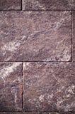 Бежевый гранит крыл предпосылку черепицей с виньеткой архитектура, текстура Стоковое Фото