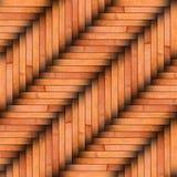 Бежевый деревянный фон планок Стоковое Фото