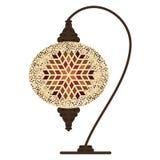 Бежевый турок лампы Стоковое Изображение RF