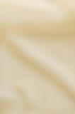 Бежевым шелк запачканный конспектом - тонкие волны Стоковое Изображение RF