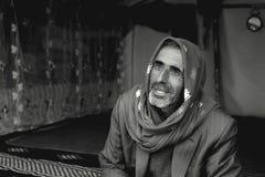 Беженец в лагере Стоковое фото RF