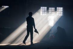 беженец Стоковое Фото