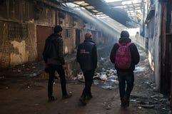 беженец Стоковое Изображение