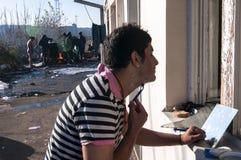 беженец Стоковые Изображения