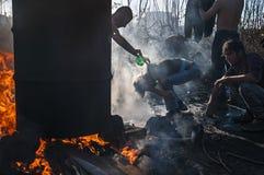 беженец Стоковая Фотография RF