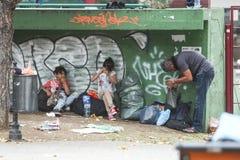 беженцы Стоковое Изображение RF