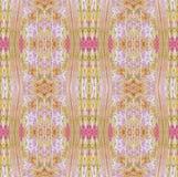 Беж безшовного пестротканого пинка картины фиолетовый Стоковые Фото