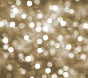 Беж запачкал предпосылку bokeh, праздник, партию, рождество, glitt Стоковое фото RF