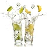 Безалкогольный напиток известки и лимона Стоковое фото RF