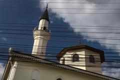 Безалаберные электронные провода в городе Крыма Стоковое Изображение RF