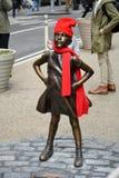 Безбоязненная девушка Стоковое фото RF