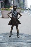 Безбоязненная девушка Стоковая Фотография RF
