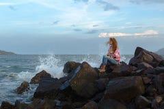 Безвыходность девушки Стоковая Фотография RF