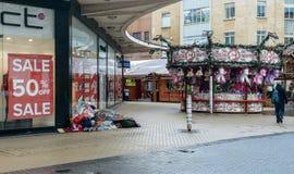 Бездомные как в городе a Стоковое Изображение RF