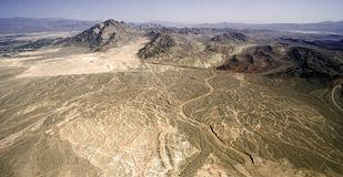 безжизненное пустыни сухое Стоковое фото RF