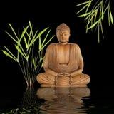 безмолвие Будды Стоковое фото RF