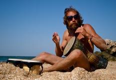 безмолвие моря барабанчика Стоковая Фотография