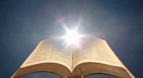 Безмятежность духовного мира библии внутренняя спокойная стоковое изображение
