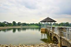 Безмятежность на более низком резервуаре Peirce, Сингапуре Стоковые Фото