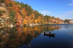 безмятежность mohonk озера Стоковое Изображение RF