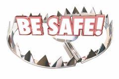 Безопасная мера предосторожности подготовьте предотвратите риск опасности Стоковое фото RF