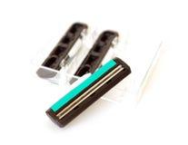 безопасность бритвы лезвия Стоковые Фотографии RF