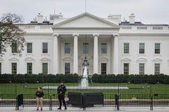 Безопасность границ Белого Дома, overcast стоковое изображение