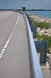 безопасность дороги направляющего выступа Стоковая Фотография