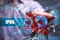 Безопасность дела, технологии, интернета и сети Стоковое фото RF