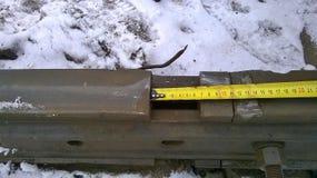 Безопасность железной дороги Стоковое Изображение RF