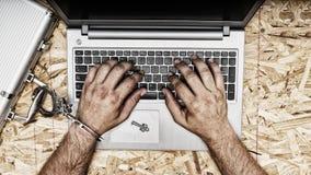 Безопасность и безопасность данных интернета стоковая фотография rf