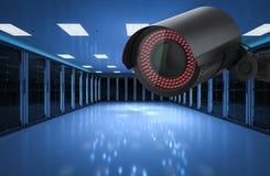 Безопасность комнаты сервера стоковые фото