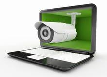 Безопасность компьютера и интернета Стоковые Изображения